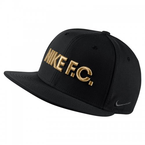 Бейсболка Nike FC True - Black/Gold