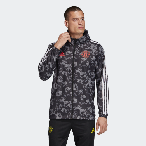 Ветровка Adidas MUFC Windbreakr - Black