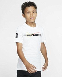 Детская футболка Neymar Jr. Kids' Football T-Shirt - White