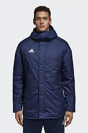 Куртка Adidas Stadium Parka - Dark Blue/White