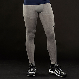 Белье Nike Pro Tights - Carbon Heather/Dark Grey/Black