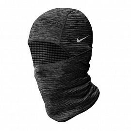 Балаклава Nike Run Therma Sphere Hood HEATHER/SILVER