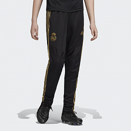 Детские брюки Tiro Real Madrid Pants - Black/gold