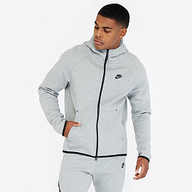 Худи  Nike Sportswear Tech Fleece Hoodie - Dark Grey Heather