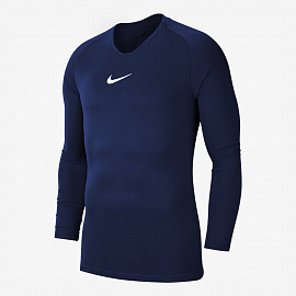 Детское белье Nike Dry Park FirstLayer LS  - MIDNIGHT NAVY/WHITE