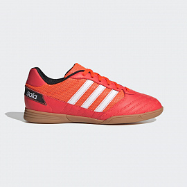 Детские футзалки Adidas Super Sala - Solar Red/White/Core Black