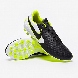 Бутсы Nike Tiempo Legend 8 Academy AG Artificial - Black/White/Black