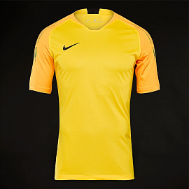 Вратарская футболка Nike Gardien II GK SS Jersey - Tour Yellow/University Gold/Black