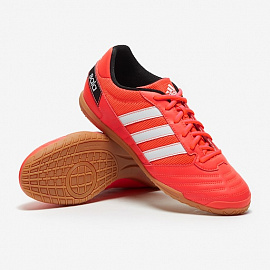 Обувь для зала Adidas Super Sala IN - Solar Red/White/Core Black