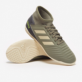 Детские футзалки Adidas Predator Tango 19.3 IN - Green/Sand/Solar Yellow