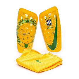 Щитки Nike Brazil Mercurial Lite - Yellow