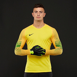 Вратарская футболка Nike Gardien II GK LS Jersey - Tour Yellow/University Gold/Black